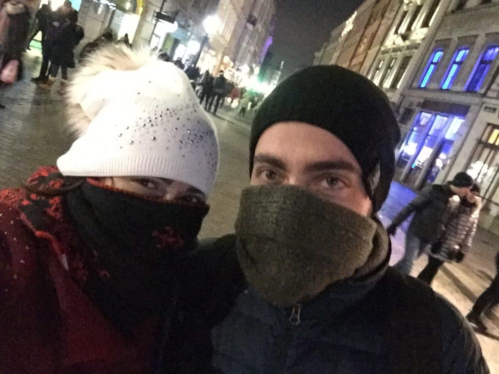 Frio na Polônia