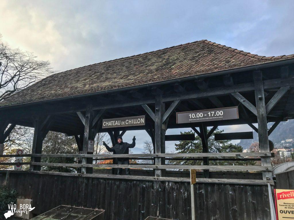 Entrada Castelo Chillon