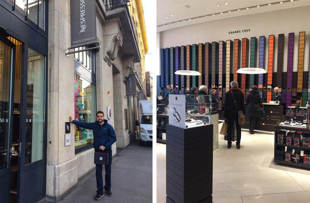 Lausanne nespresso