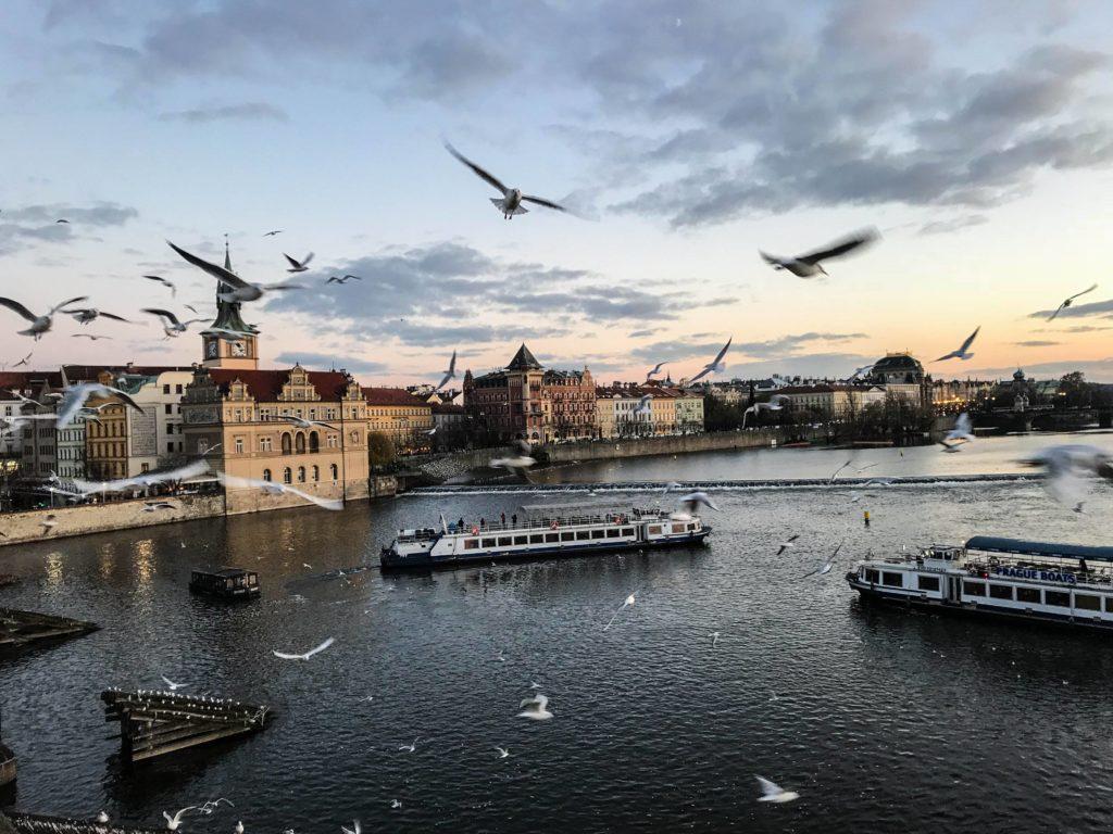 Praga Ponte Carlos