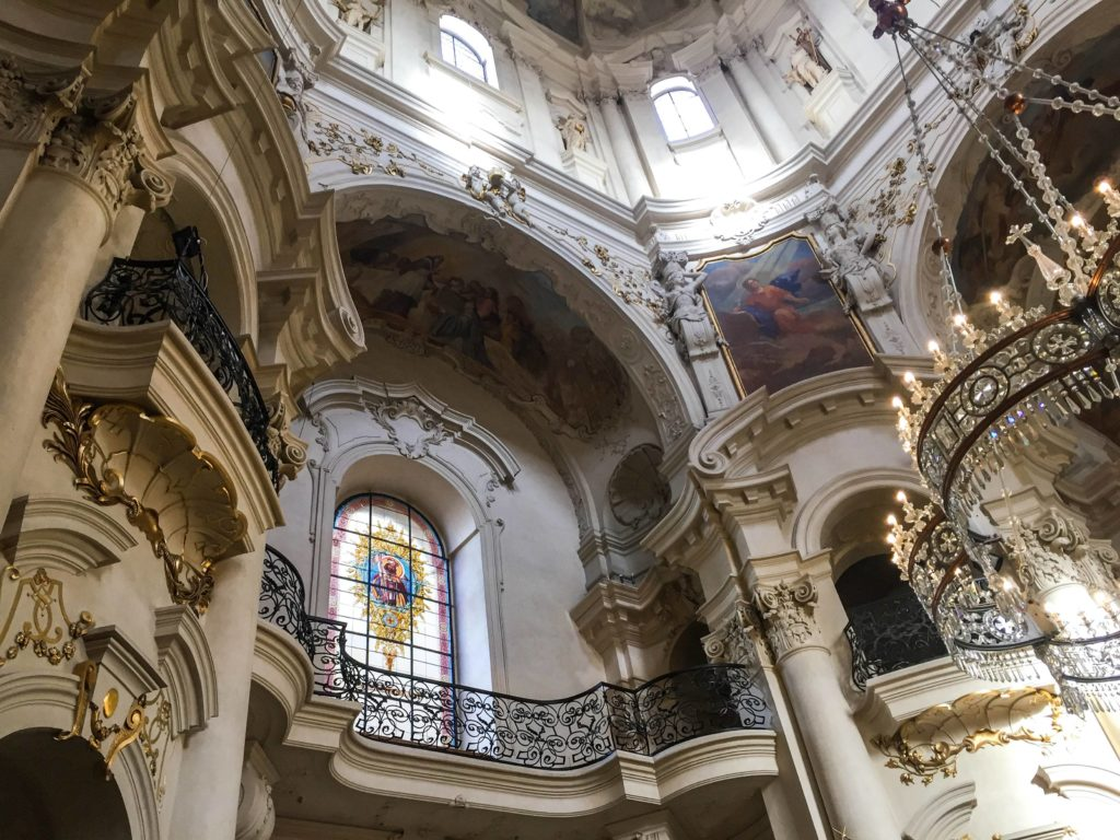 Interior da Igreja St. Nicholas