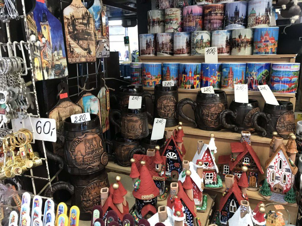 souvenir praga