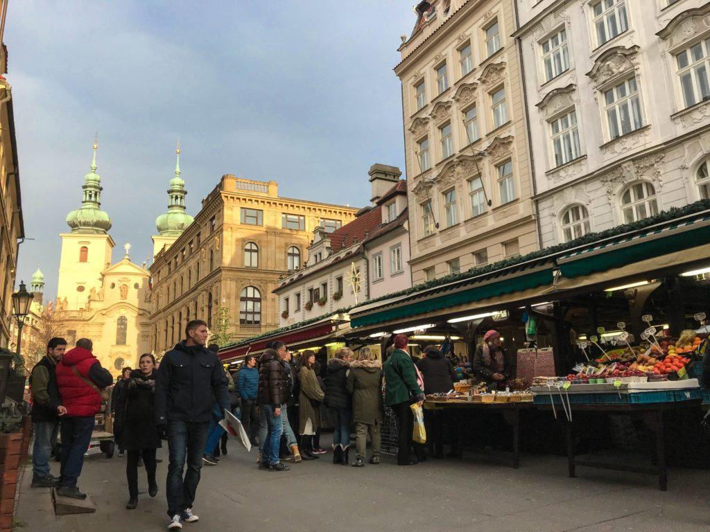 Mercado havelska Praga vao bora viajar