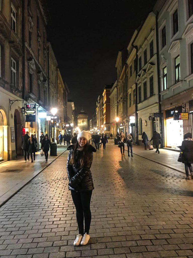 Noite em Cracóvia