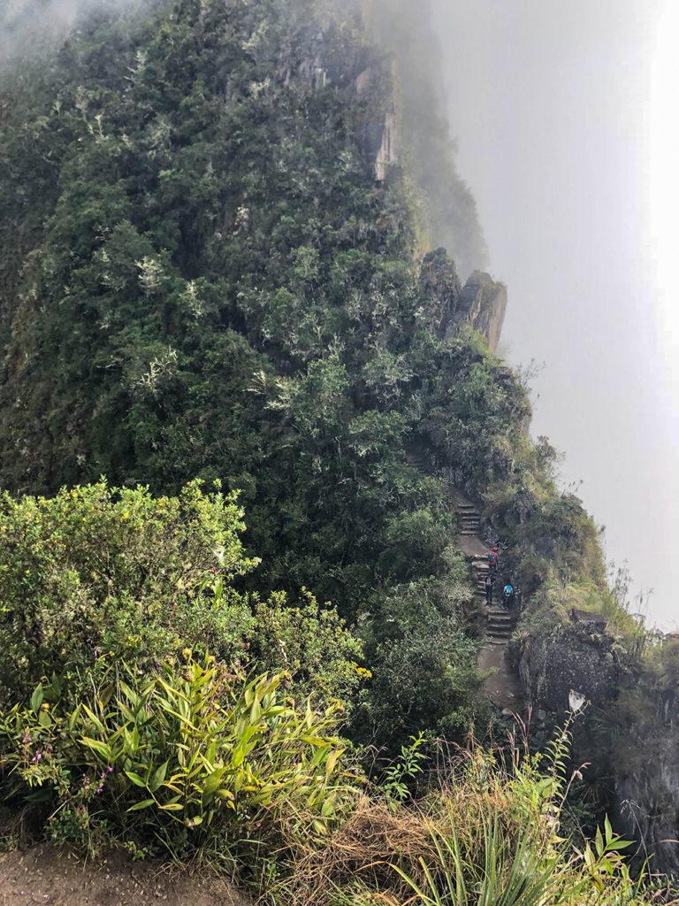 Subida a Huayna Picchu