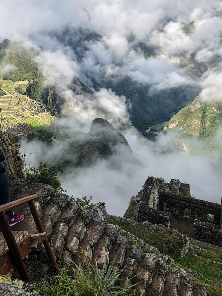 Vista do topo de Huayna Picchu.