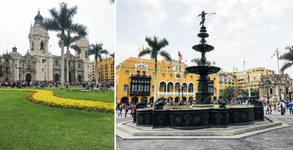 Plaza Mayor ou Plaza das Armas